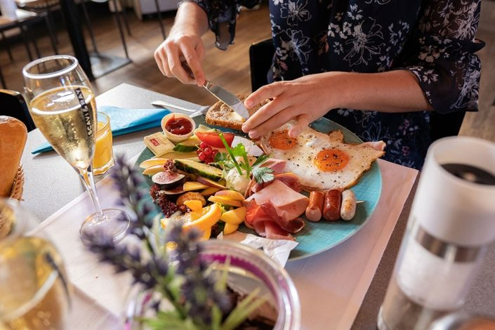 leckeres Frühstück im Ludwig